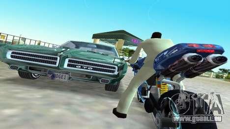 Pontiac GTO The Judge 1969 für GTA Vice City Rückansicht
