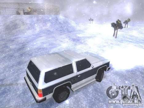 Snow MOD HQ V2.0 für GTA San Andreas neunten Screenshot