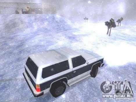 Snow MOD HQ V2.0 pour GTA San Andreas neuvième écran