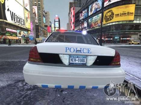 Ford Crown Victoria Homeland Security pour GTA 4 est un droit