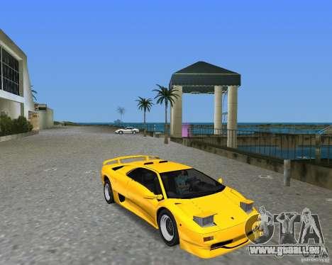 Lamborghini Diablo SV pour GTA Vice City