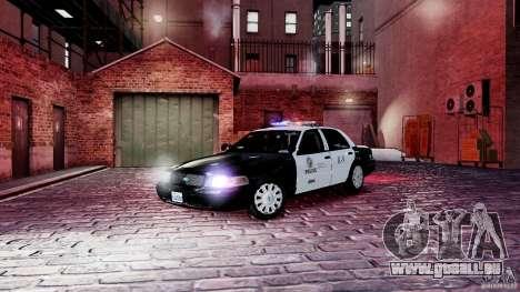 Ford Crown Victoria CVPI-K9 V6.9A-LAPD-ELS pour GTA 4