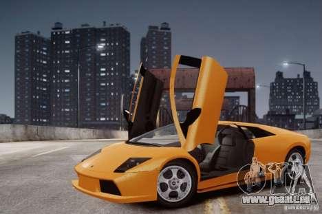 Lamborghini Murcielago für GTA 4 Innenansicht