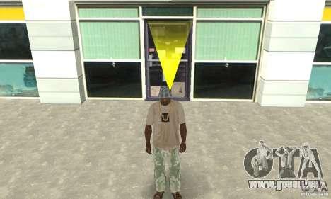 Camouflage-Hose für GTA San Andreas