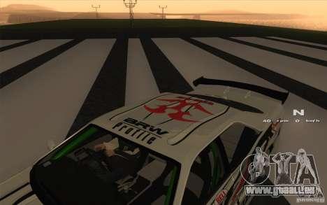 Nissan Skyline ER34 D1GP Blitz pour GTA San Andreas vue de droite