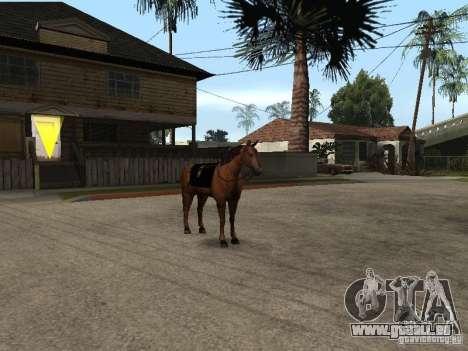 Cheval pour GTA San Andreas septième écran