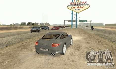 Porsche Carrera S 2009 pour GTA San Andreas laissé vue