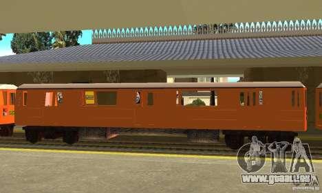Liberty City Train CP pour GTA San Andreas laissé vue