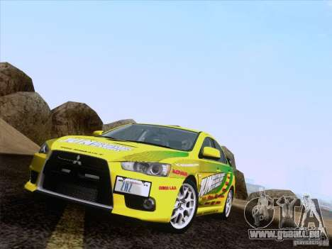 Downhill Drift pour GTA San Andreas sixième écran