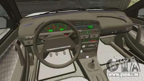 VAZ-2114-Drain für GTA 4 Seitenansicht