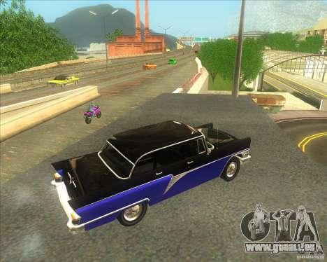 GAZ 13 Chaika pour GTA San Andreas sur la vue arrière gauche