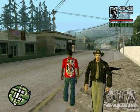 Nouveau shérif pour GTA San Andreas