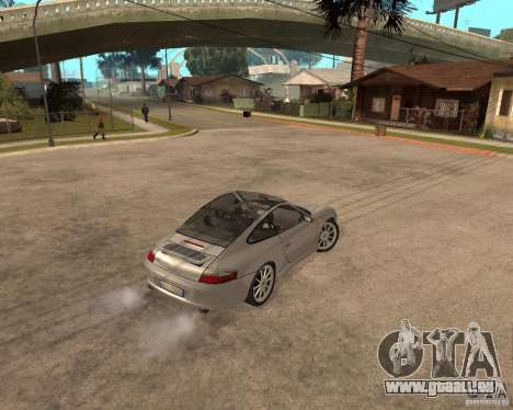 Porsche 911 TARGA für GTA San Andreas Innenansicht