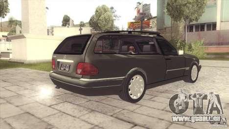Mercedes-Benz E320 Funeral Hearse für GTA San Andreas rechten Ansicht