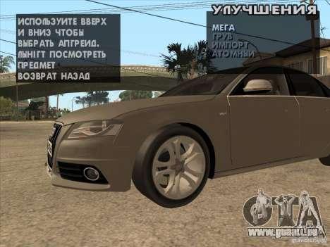 Tuning Maschine überall für GTA San Andreas dritten Screenshot