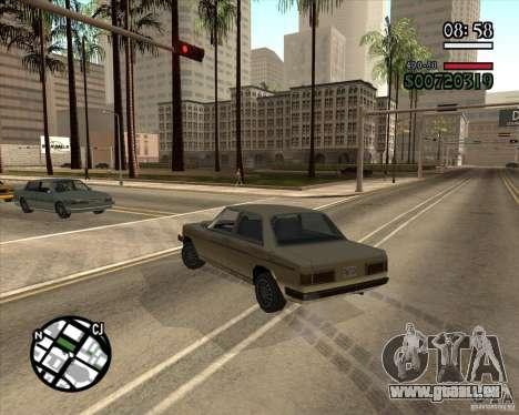 Nouvelle gestion pragmatique pour GTA San Andreas deuxième écran