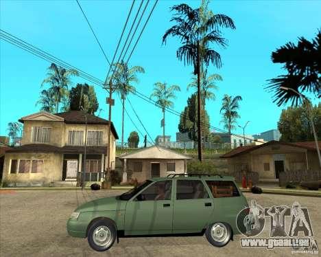 VAZ 2111 pour GTA San Andreas vue de côté
