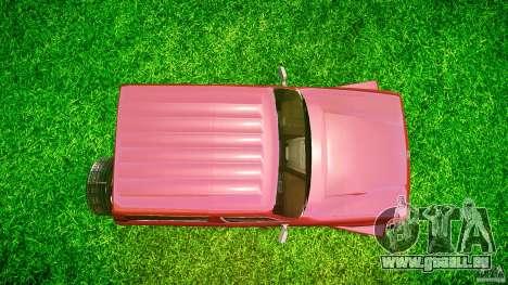 Toyota Land Cruiser 4.5 V2 pour GTA 4 est un droit
