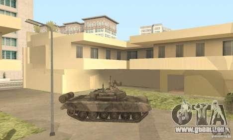 T-90 A pour GTA San Andreas laissé vue