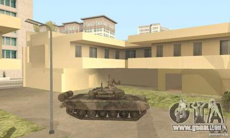 T-90A für GTA San Andreas linke Ansicht