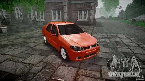 Fiat Albea Sole für GTA 4 Rückansicht