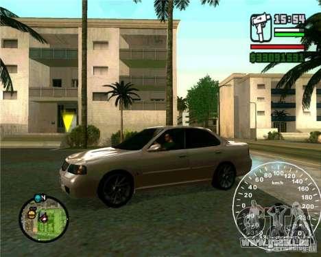 Nissan Sunny pour GTA San Andreas laissé vue