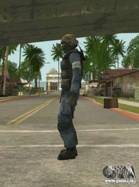 Counter-terrorist für GTA San Andreas sechsten Screenshot