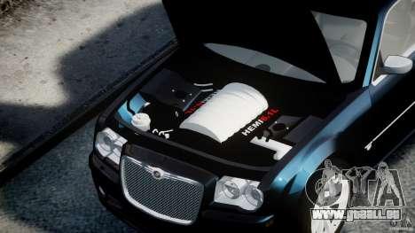 Chrysler 300C SRT8 pour GTA 4 est un droit