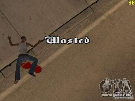 Regeneration von den Armen in Mord für GTA San Andreas zweiten Screenshot