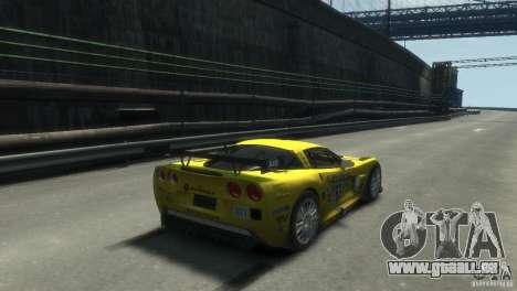 Chevrolet Corvette C6-R für GTA 4 linke Ansicht
