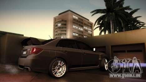 Subaru Impreza WRX STi 2011 pour GTA San Andreas vue de droite