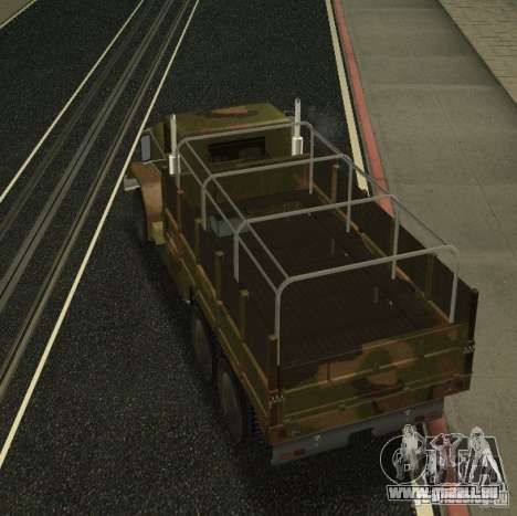 Sand Barracks HD pour GTA San Andreas vue de droite