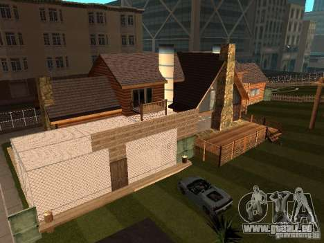 Villa in San Fierro für GTA San Andreas