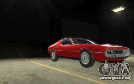 Alfa Romeo Montreal 1970 für GTA 4 linke Ansicht