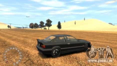 BMW M3 E36 pour GTA 4 est une gauche