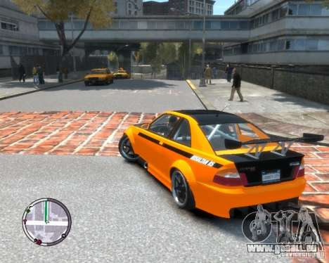 Sultan RS HD FreeStyle Team für GTA 4 linke Ansicht