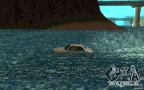 Admiral Boat pour GTA San Andreas laissé vue