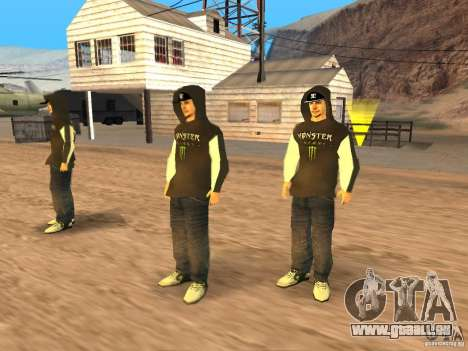 Ken Block Family pour GTA San Andreas