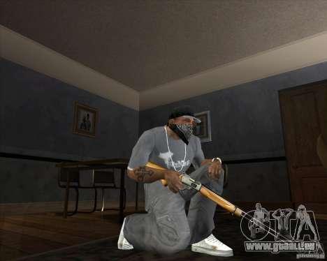 Jarra Mono Arsenal v1.2 für GTA San Andreas sechsten Screenshot