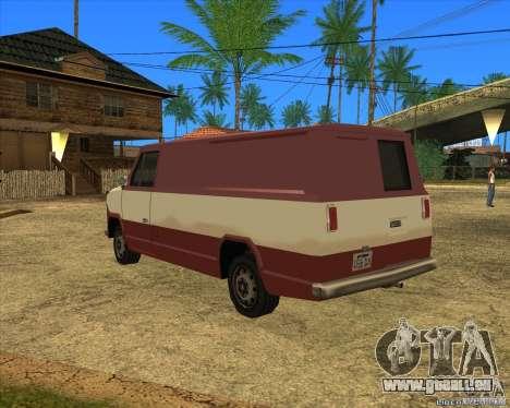 Transporter 1987 - GTA San Andreas Stories für GTA San Andreas linke Ansicht