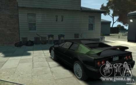 Lotus Esprit V8 für GTA 4 hinten links Ansicht