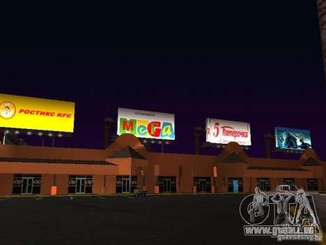 Boutique russe en Las Venturase pour GTA San Andreas troisième écran