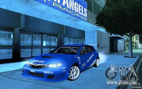 Subaru Impreza WRX STI 2008 Tunable für GTA San Andreas