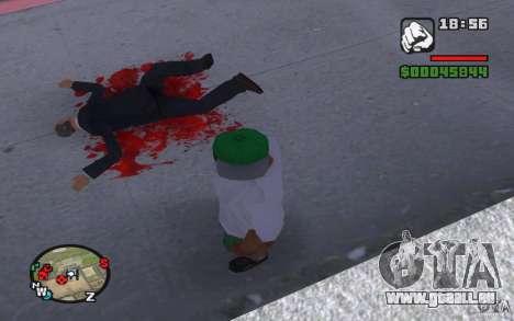 Echtes Blut für GTA San Andreas