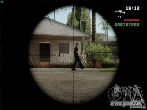 L96A1 für GTA San Andreas dritten Screenshot
