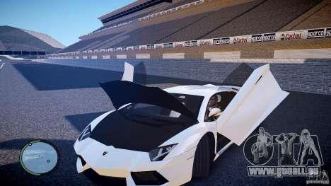 Lamborghini Aventador LP 700-4 für GTA 4 Innenansicht