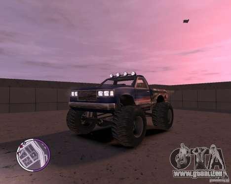 Monster from San Andreas für GTA 4 linke Ansicht