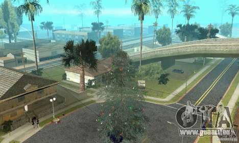 Weihnachtsbaum für GTA San Andreas