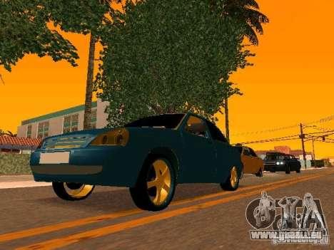 LADA 2170 Priora Gold Edition pour GTA San Andreas salon