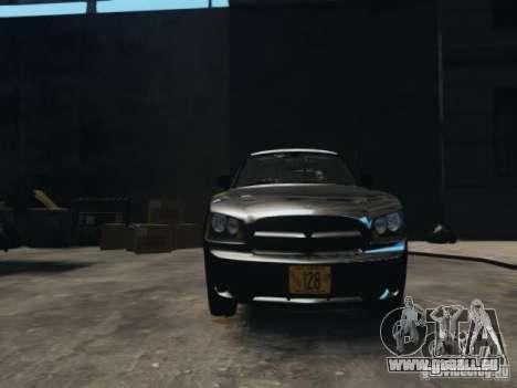 Dodge Charger Slicktop 2010 für GTA 4 Rückansicht